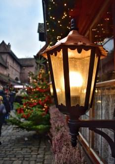 Lantern at the Nuremberg Christmas market