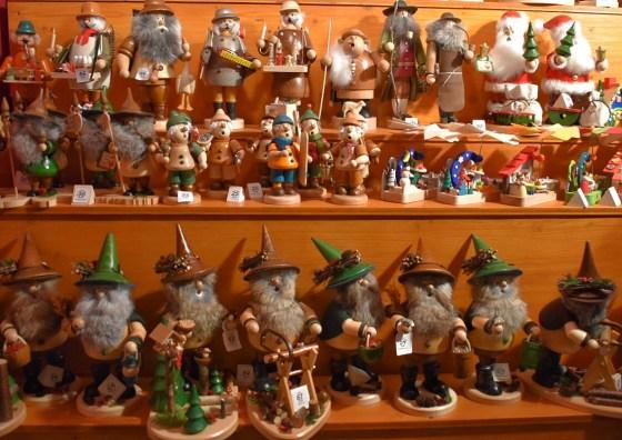 Wooden ornaments, Nuremberg Christmas market