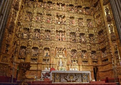 Seville Cathedral alter
