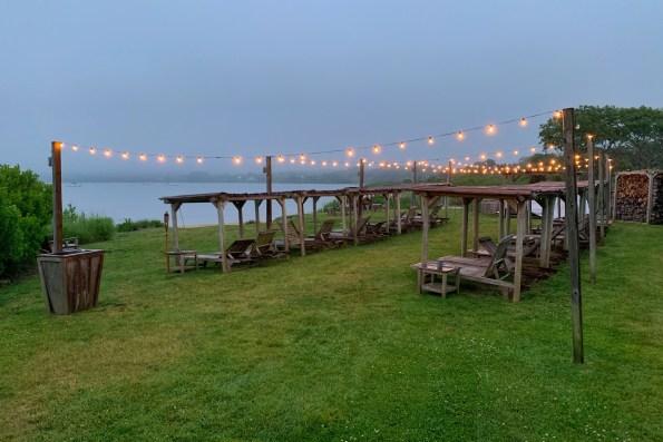 Crow's Nest lakeside bar, the Hamptons