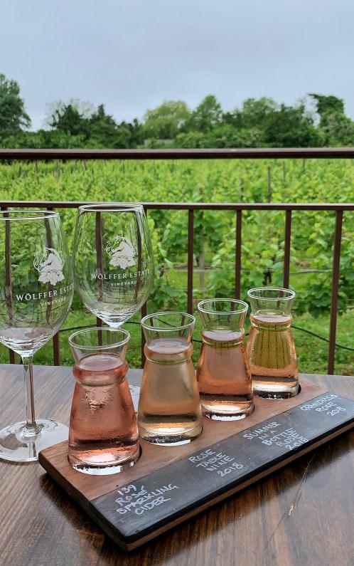 Wolffer Estate wine, the Hamptons