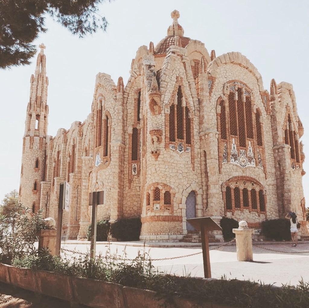 ver el Santuario de Santa Maria magdalena cerca de valencia