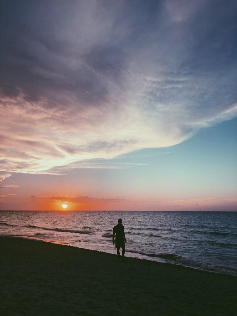 atardecer en playa Varadero Cuba