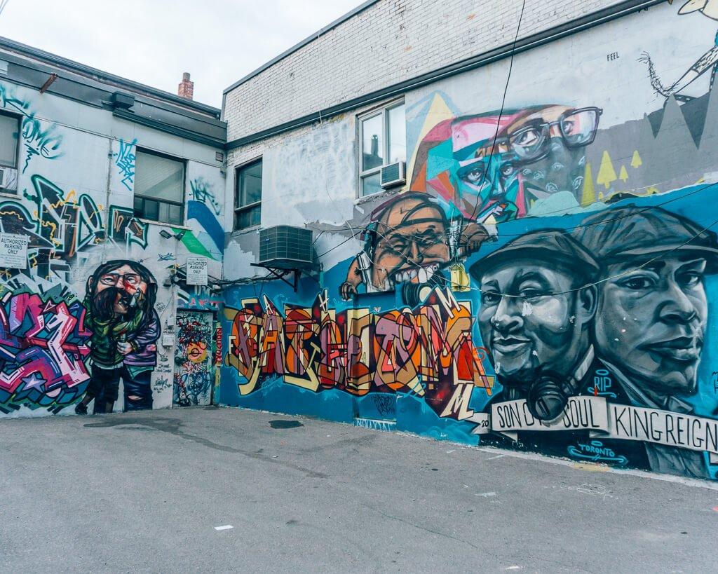 graffiti places in Toronto