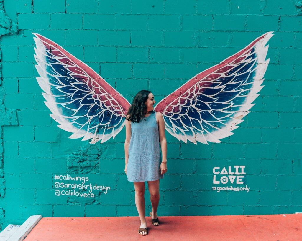 Angel Wings at Calii Love in Toronto
