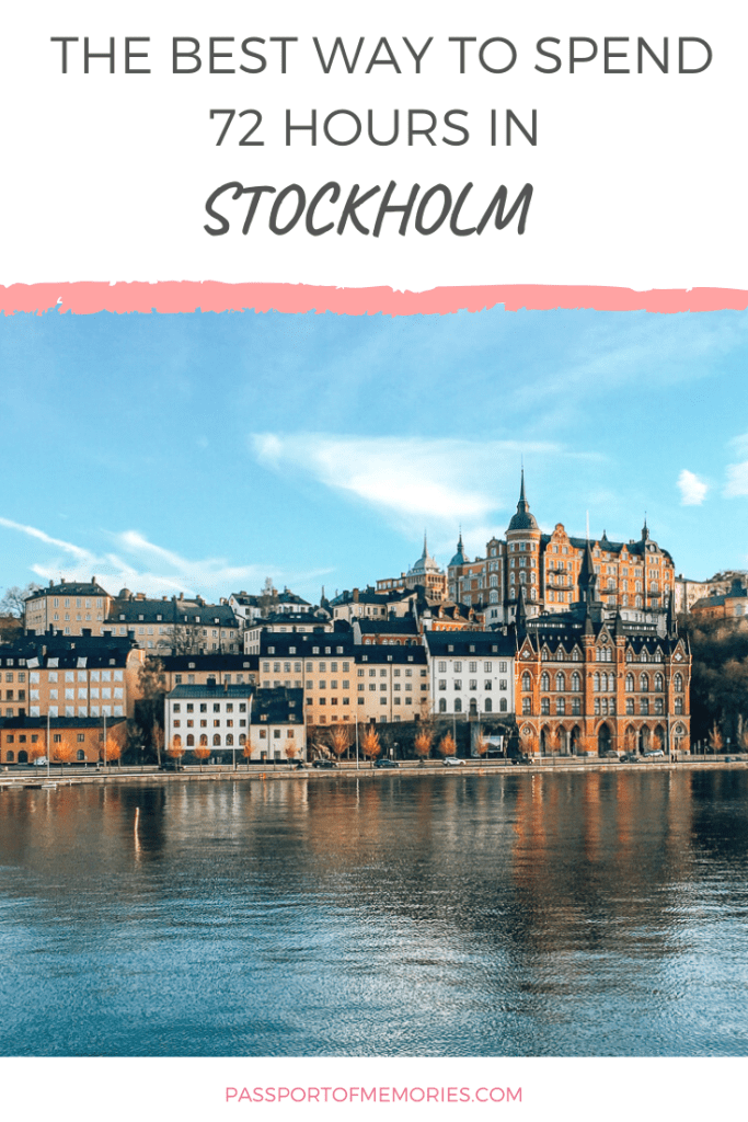 Stockholm view point