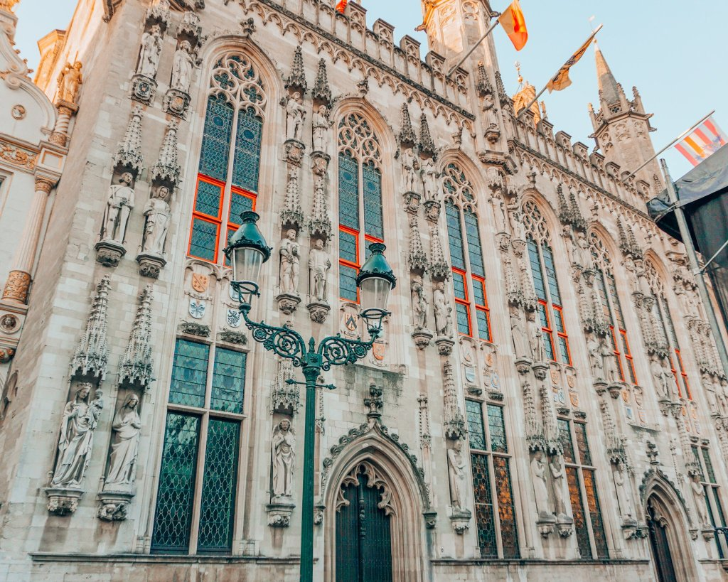 Basilica of Holy Blood in Bruges