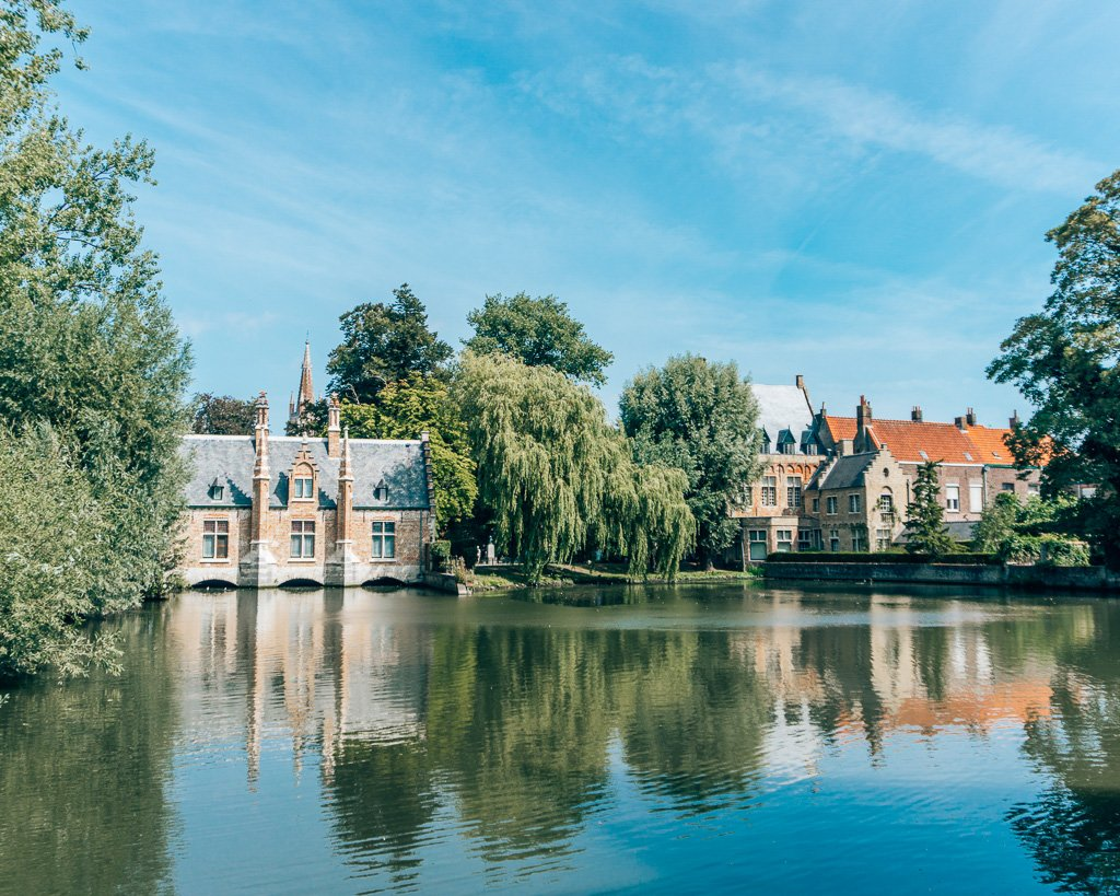 Minnewaterpark in Bruges