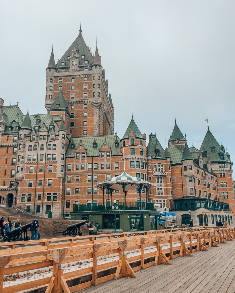 Instagram location of the Chateau Frontenac