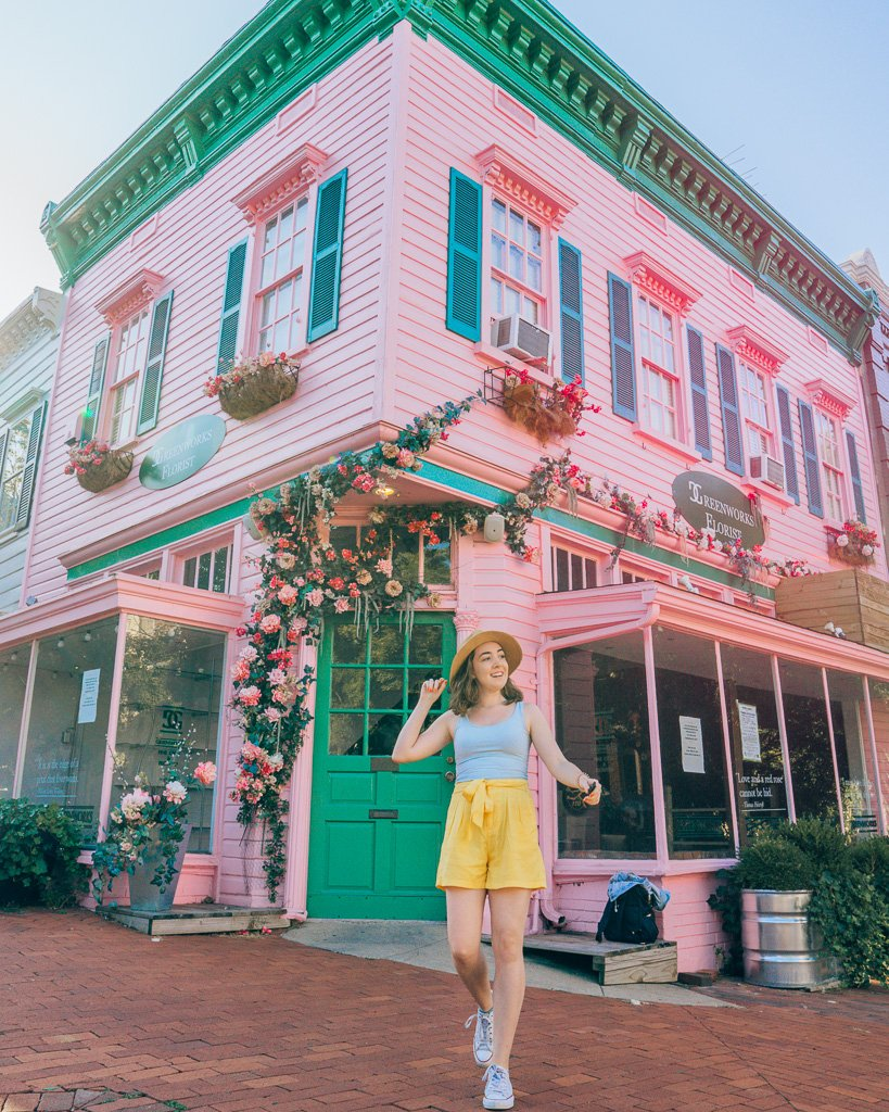 Instagrammable Flower shop in Washington, Dc