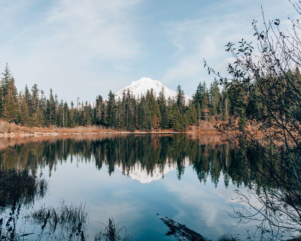 Mirror Lake in Oregon