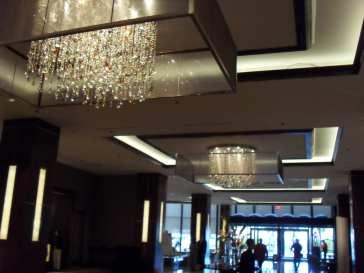 ceiling of the hotel, Hugo Morel