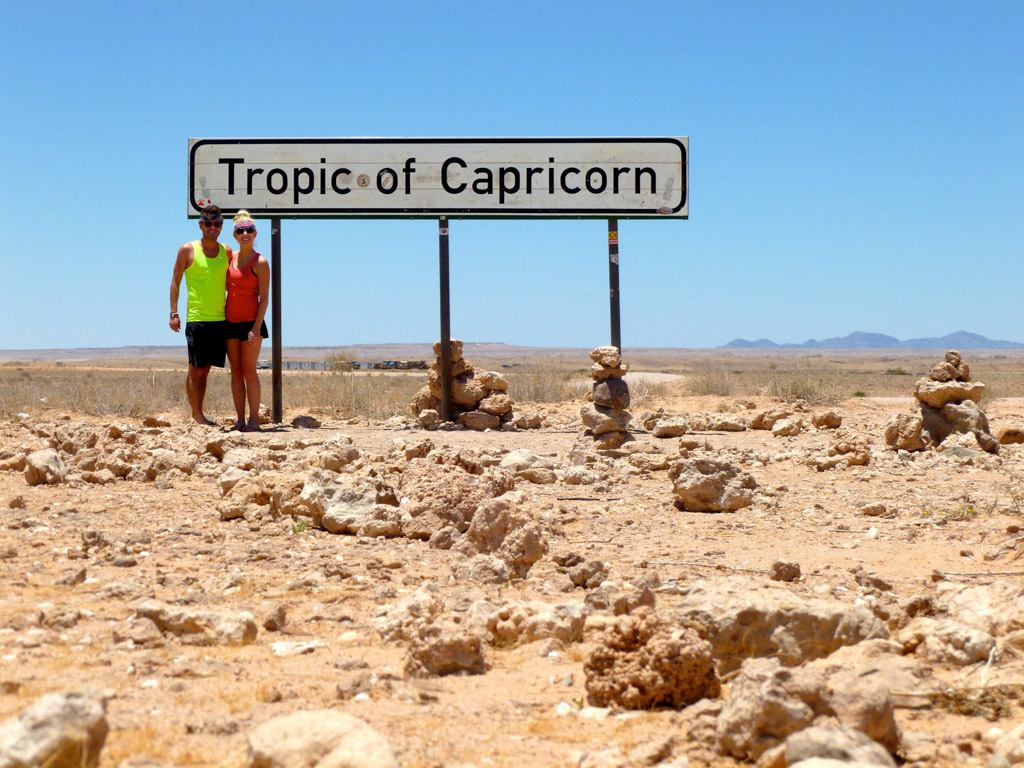 Tropic of Capricorn in Namibia