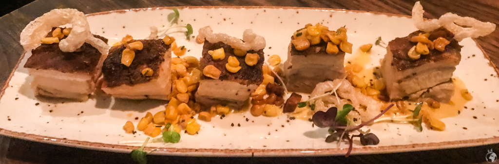 Pork belly at Charango in Cape Town, South Africa