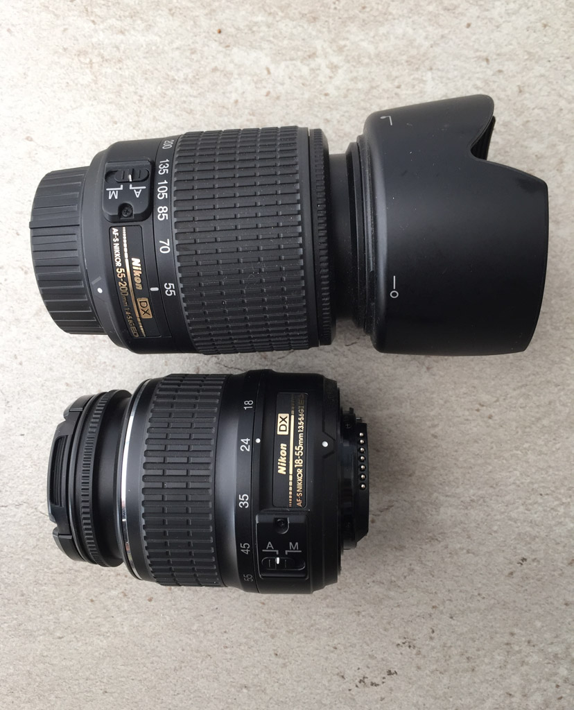 The Nikon D3200 Bundle we purchased from Amazon came with two lenses to meet all of our photography needs
