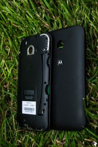 The sim card tray in the Motorola Smartphone