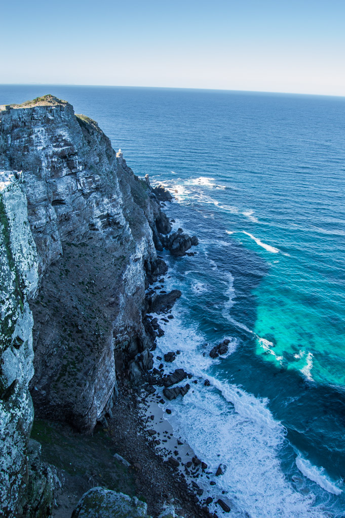 Cape Point on the Atlantic Ocean side