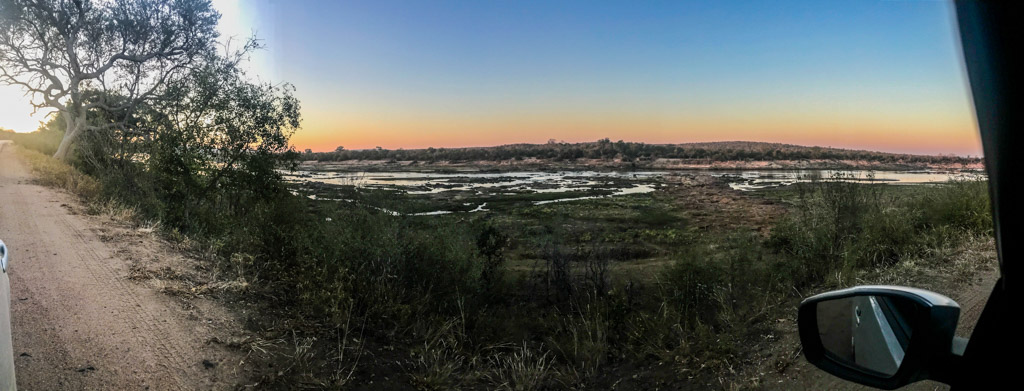 Sunrise over the Lower Sabie river