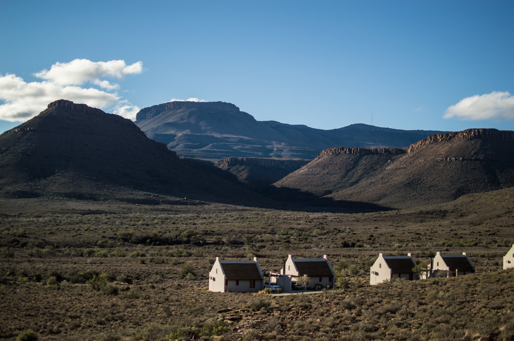 Chalets and scenery.