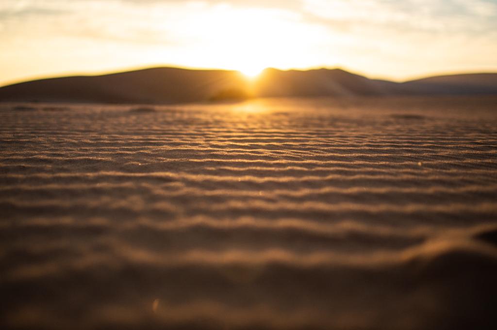 Sossusvlei Dunes at sunrise