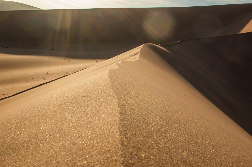 A perfect Sossusvlei Dune ridge