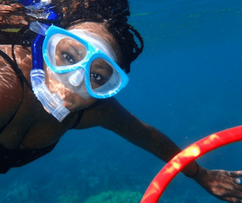 Why Do People Travel | Tomiko Snorkeling in Maui