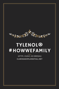 Have You Seen The Tylenol How We Family Video?