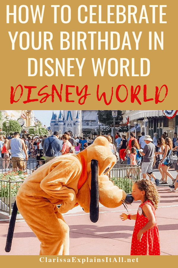Do you love Disney World? Have you ever visited the Disney Parks for your birthday? Find out how to celebrate your birthday in Disney World in a unique way.