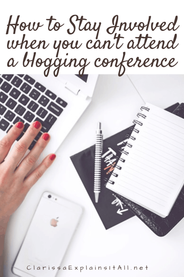 How To Stay Involved When You Can't Attend A Blogging Conference