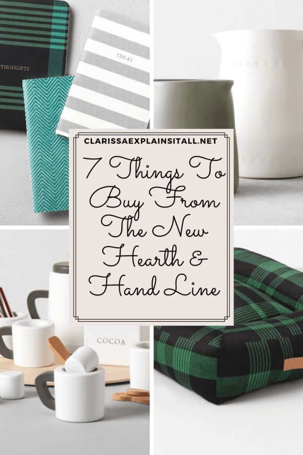 7 Things To Buy From The New Hearth & Hand Line