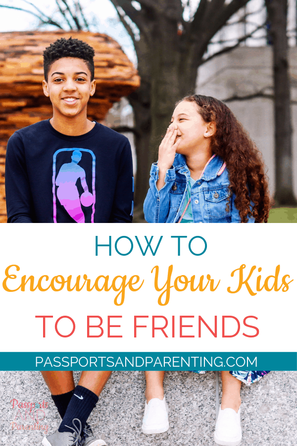 Today is National Siblings Day and in order to celebrate, I want to talk about should you encourage your kids to be friends or not.