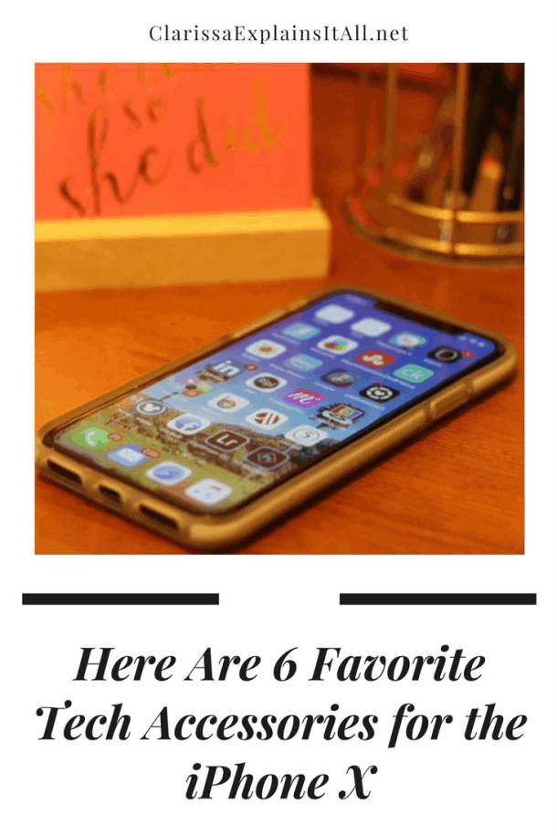 6 favorite tech accessories iphone x