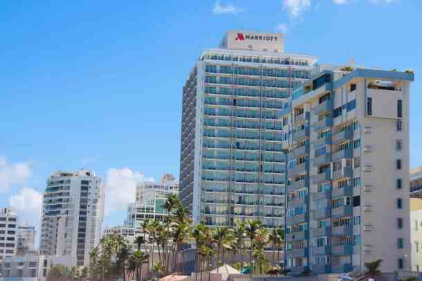 San Juan Marriott in the best place to stay in Puerto Rico with kids.