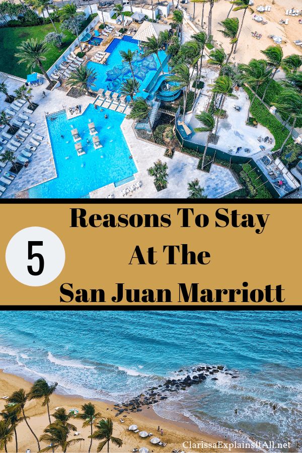 Puerto Rico is theperfect vacation destination,and if you want to know an excellent resort there, I am sharing 5 reasons to stay at the San Juan Marriott.