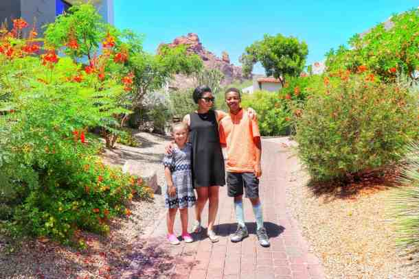 Family travel to Phoenix Arizona