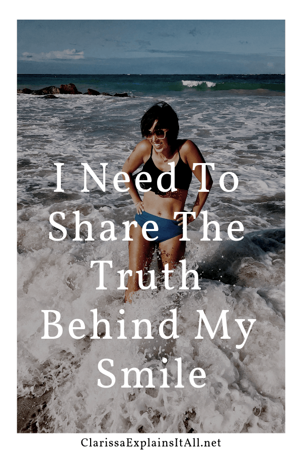 One of my favorite family traditions has to do with travel, but for the first time ever our trip almost didn't happen. I need to share the truth behind my smile recently.
