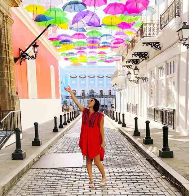 Umbrella Sky Old San Juan