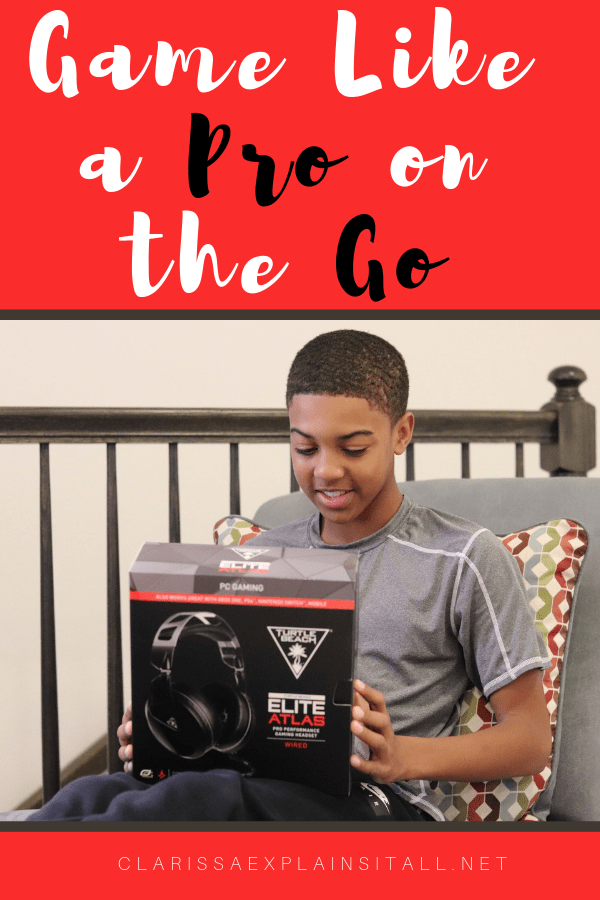 Are you a gamer, or do you have a gamers in your life? See how this Turtle Beach Headset lets you game like a pro wherever you go.