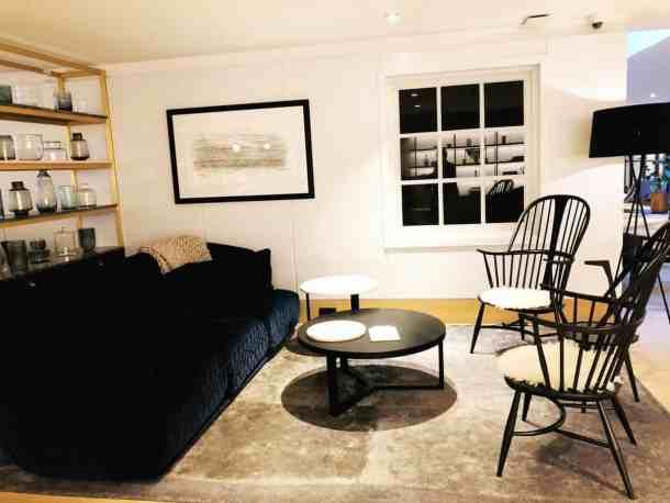 Kimpton DeWitt Amsterdam lounge area