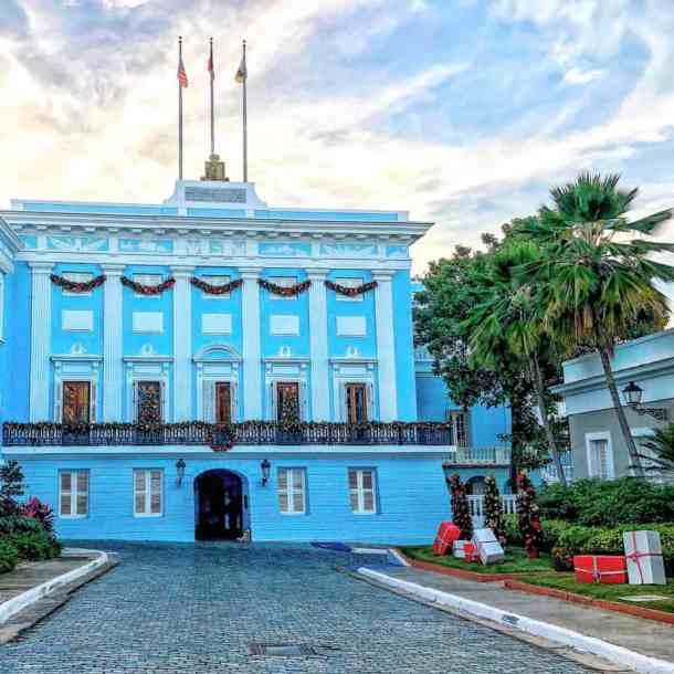 Governor's estate in Old San Juan