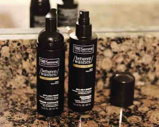 healthy hair TRESemme between washes
