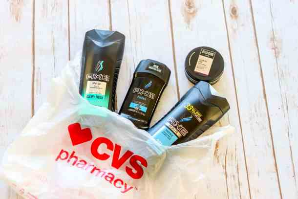 AXE products from CVS