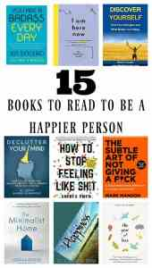 books to be a happier person