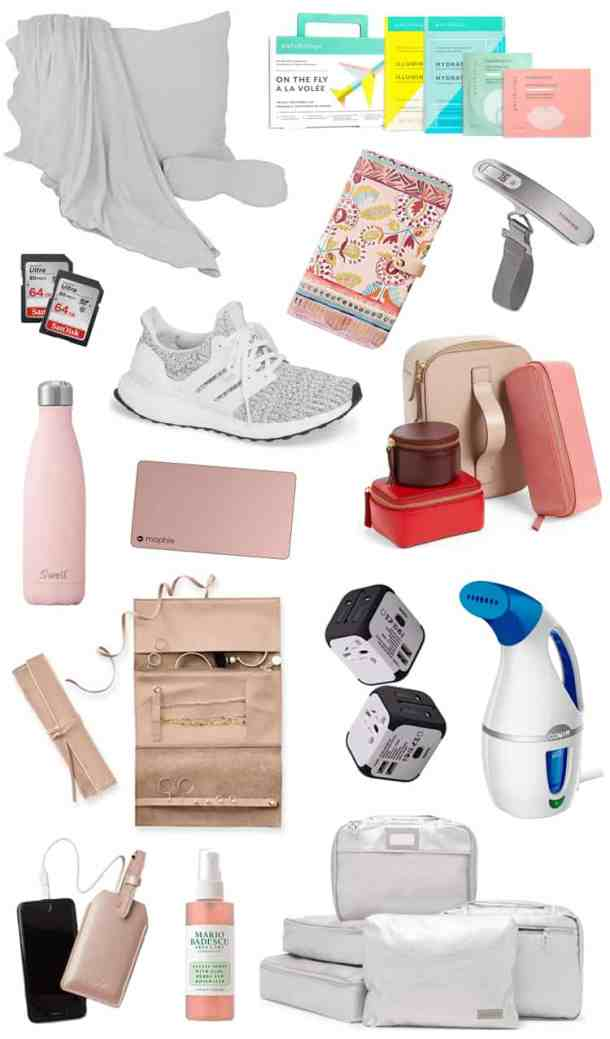 International Travel Essential Items