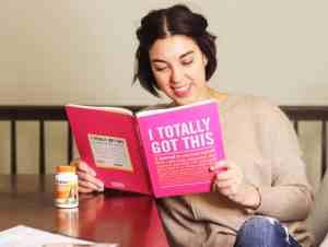 smiling motivational book