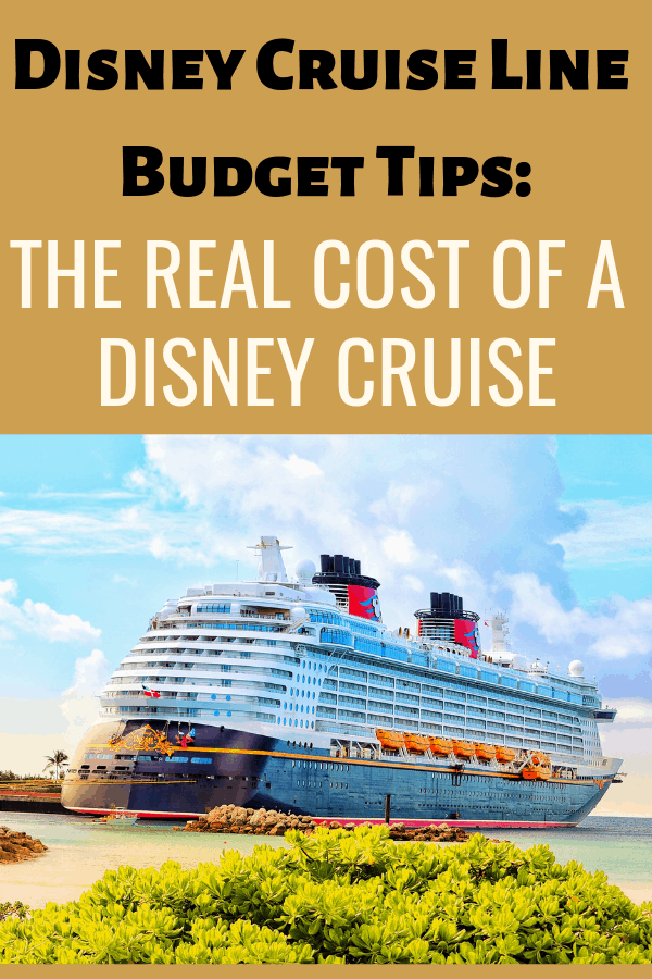 Figure out your Disney Cruise Line Budget the right way and take these five things into consideration before you buy your Disney Cruise Line package.