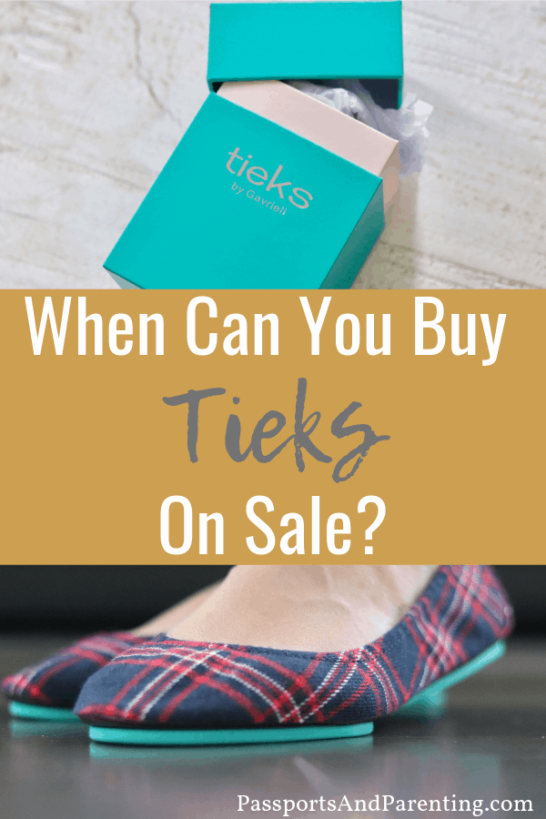 With the popularity of the Tieks foldable ballet flats increasing, people are often wondering when can you buy Tieks on sale.