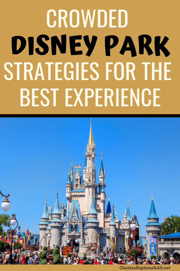 Disney is getting good at packing in the guests year round. If you get caught off guard, here's how to get the most of a crowded Disney park