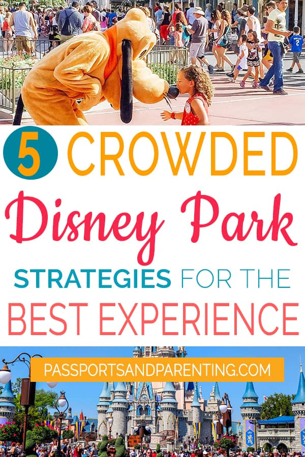 Always plan your day expecting that the #Disney Parks will be crowded, because Disney is an expert at packing in the guests year round.Learn strategies for how to make the most of a crowded Disney park.This is so simple, but it really works!