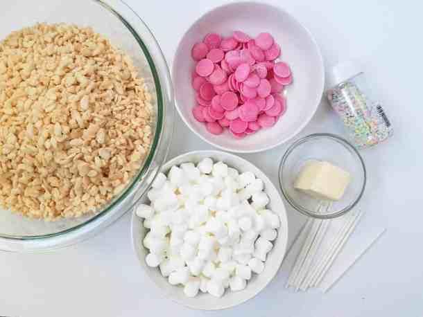 Ingredients Rice Krispies Pops